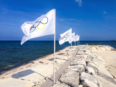 olympic sports: Flags of the Olympics