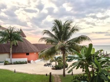 Paradise at resort