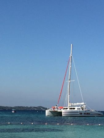Paradise sailing Zdjęcie Seryjne