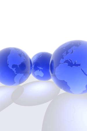 outerspace: 3d hacer de globos.