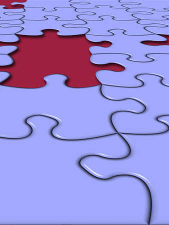 missing piece: Puzzle's Missing Piece.