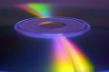 Abstract immagine CD-ROM