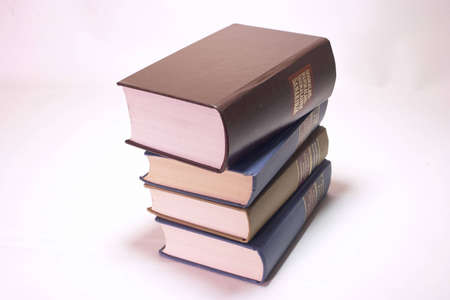 antics: Old Books stack