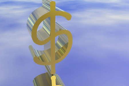 billing: Golden Dollar sign illustrated.