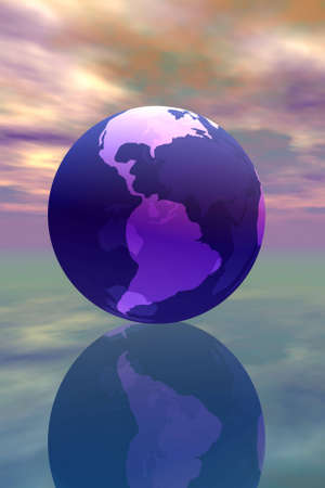 3D rendered of world. Stock Photo - 227218