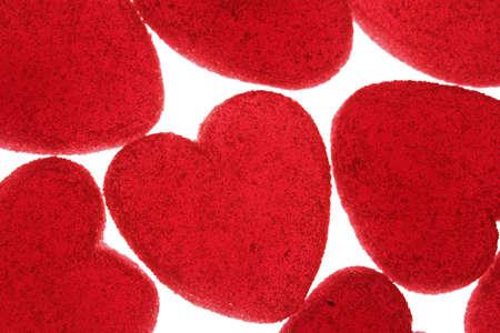 loves: Illustration of hearts.