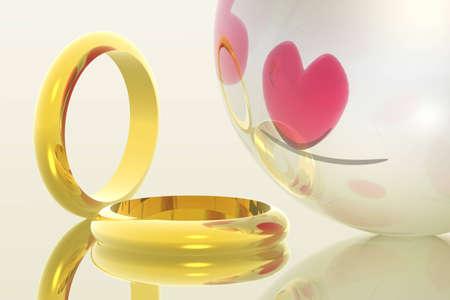illustration of rings Stock Illustration - 283803
