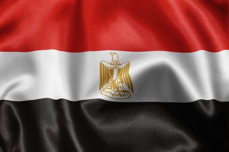 sunni: close-up of flag Stock Photo