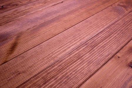 Wooden table. wood texture. A table made of wooden planks. Wooden background. 写真素材