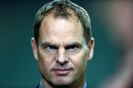 ajax: Warsaw Poland February 26 2015: UEFA Europa League playoff stage Legia Warsaw Ajax Frank De Boer Editorial