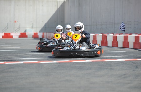 First journalists championships in karting