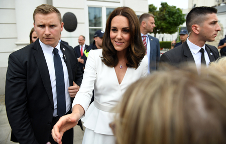 JUNE 17, 2017: The Duke and the Duchess of Cambridge visit in Polando  p Kate Middleton