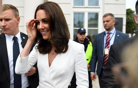 JUNE 17, 2017: The Duke and the Duchess of Cambridge visit in Polando  p Kate Middleton