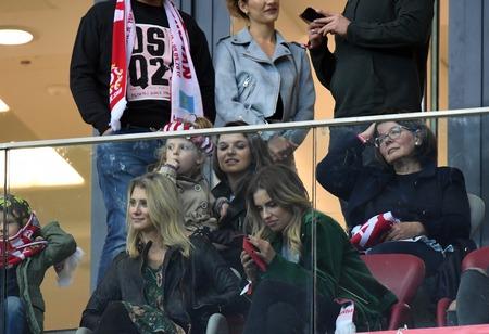 midfielder: 4 SEPTEMBER, 2017 - WARSAW, POLAND: Football World Cup Russia qualification match Poland - Kazakhstano  p Anna Lewandowska Editorial