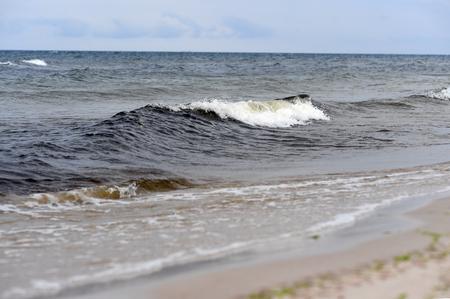 Polish Baltic sea during summer