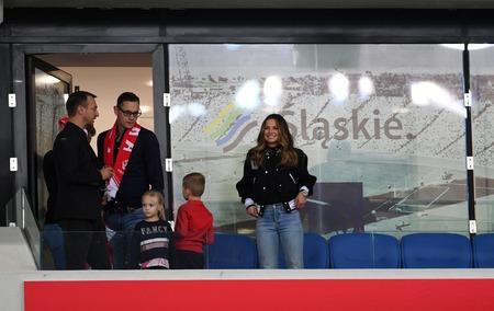 CHORZOW, POLAND - OCTOBER 11, 2018: UEFA Nations League Poland and Portugalo  p: Anna Lewandowska