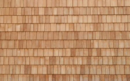 Wooden shingles pattern