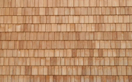 Wooden shingles pattern