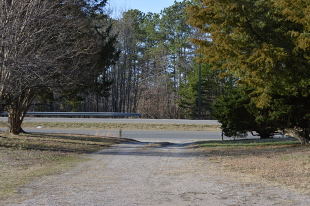 Gravel Driveway in rural Virginia 2