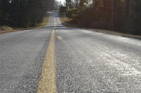 Rural Road in Virginia