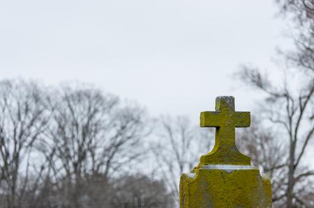 Gravestone cross 2