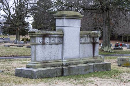 Blank Family Grave plot marker - Large Redactioneel