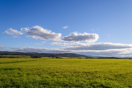 Drummossie Moor, the site of the Battle of Culloden in 1746 near Inverness in the Scottish Highlands 写真素材