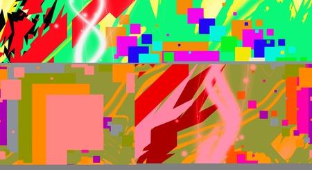 Formatted pixels Ilustração
