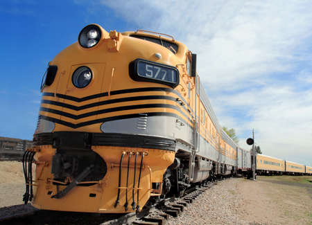 ruled: Powerful diesel locomotives once ruled the rails
