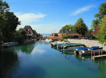 lake michigan: Popular vacation spot on Lake Michigan- Leland