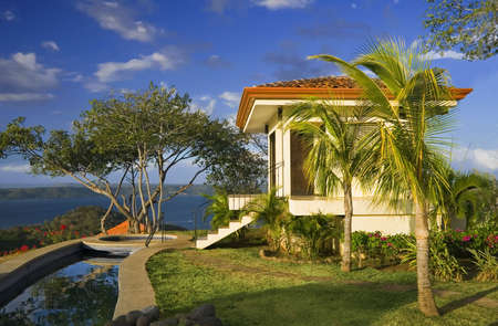 commanding: Tropical getaway with a commanding view of the ocean - Playa Hermosa, Costa Rica