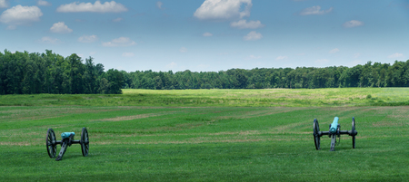 Cannons At Malvern Hill