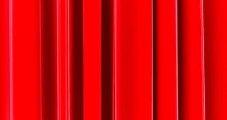 Back ground, wallpaper, red. red wall paper, 3D rendering Standard-Bild