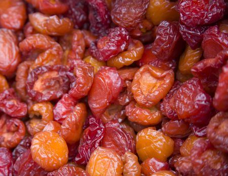 colon cleansing: Dried Betty Ann Plums at Farmers Market