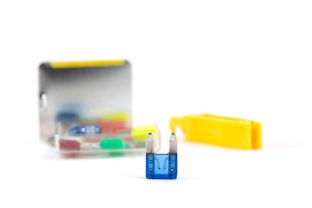 car fuse: Blown Car Fuse with Emergency Replacement Kit