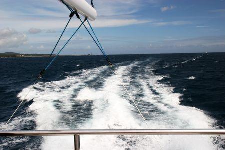 Sailboat Wave