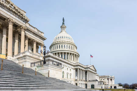 The United States Capitol Building from the House of Representatives  in Washington D.C.