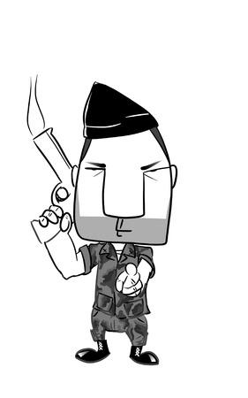 soldier illustration
