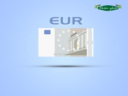 EURO paper money vector