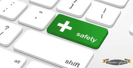 safety button on keyboard