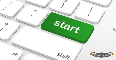 """meaning: mensaje en el teclado enter significa es \ """"start \"""""""
