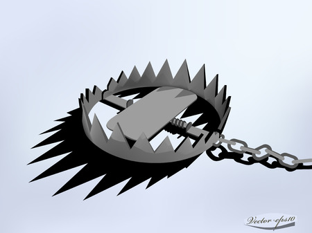 vector design of metal trap