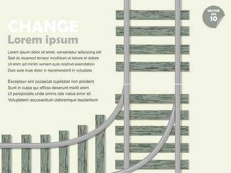 shunt: infographic choice concept, shunt railway