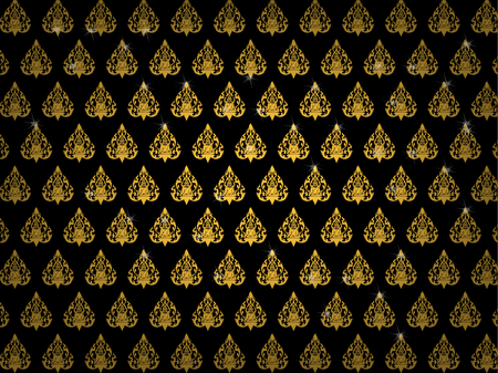 thai buddhism art pattern wallpaper background vector design, thai pattern background design concept 版權商用圖片 - 71635584