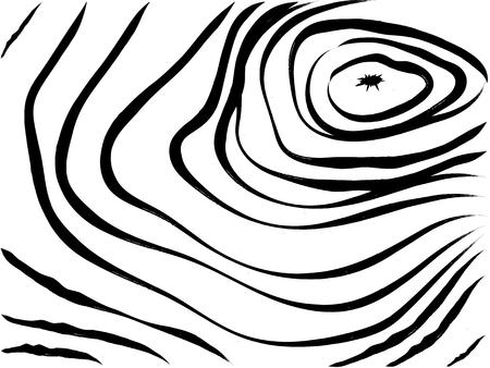 Ilustración vectorial de textura de madera diseño gráfico concepto