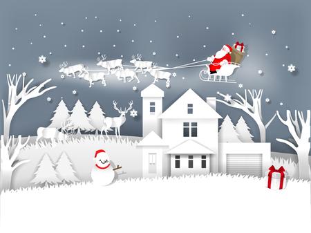 Christmas greeting card design concept. Çizim