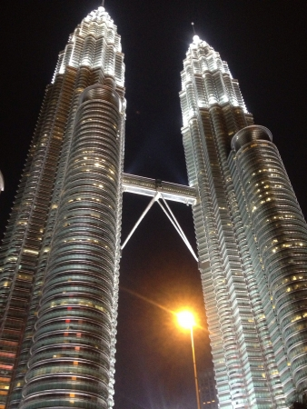 architecture: Petronas Twin Towers Stock Photo