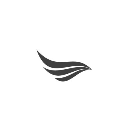 Falcon Wing Logo Template vector icon design Logo