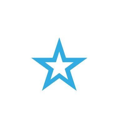 Star Logo Template vector icon illustration design Çizim