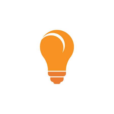Bulb logo vector ilustration template Stockfoto - 151090688